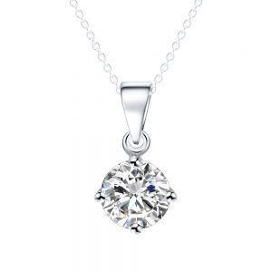 Zirconia Pendant Necklace for Women