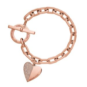 Trendy Heart Chain Bracelet